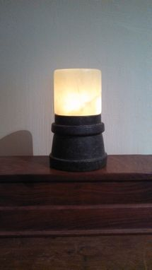 Custom Made Alabaster Tea Lamps