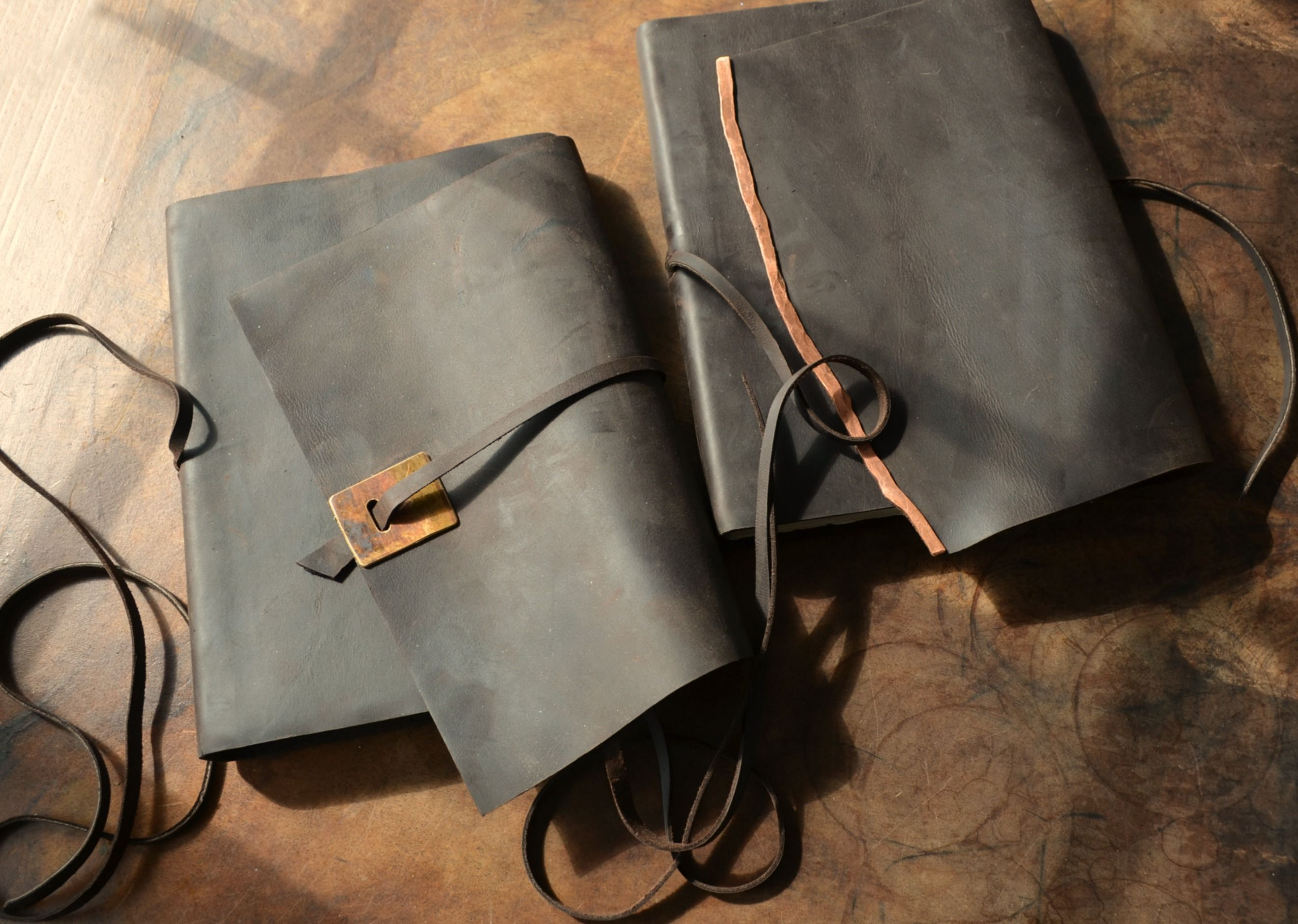 Buy A Hand Crafted Elegant Chic Handmade Leather Bound Lined