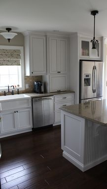 Custom Made Pearl White Kitchen