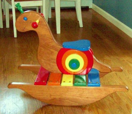 Custom Made Children's Rocking Snail