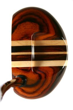 Custom Made Cocobolo With Three Maple Aiming Lines