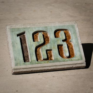 Custom Made Address Plaques