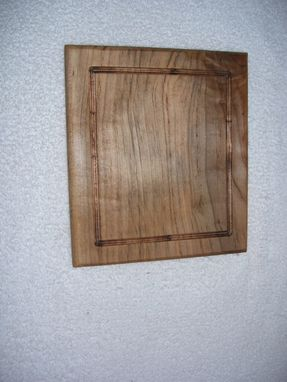 Custom Made Maple Cutting Board With Juice Ring