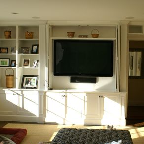 Built In Wall Unit By Tom Sippel