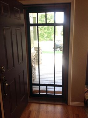 Custom Made Craftsman Screen/Stormdoor
