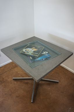 Custom Made Concrete Showcase Coffee/Dining Table