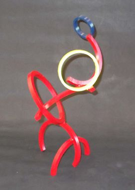 Custom Made Metal Ring Sculpture #2
