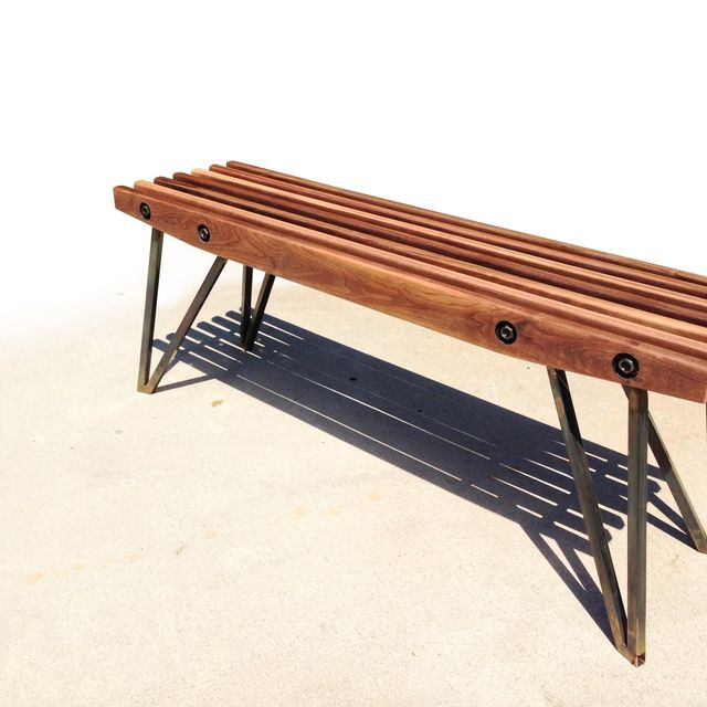 inspired hatefly to blog used practice coffee modern i it garden as a table for bench patio could be mod by nowhere s slat guess piece wood century too but decent perfect close mid