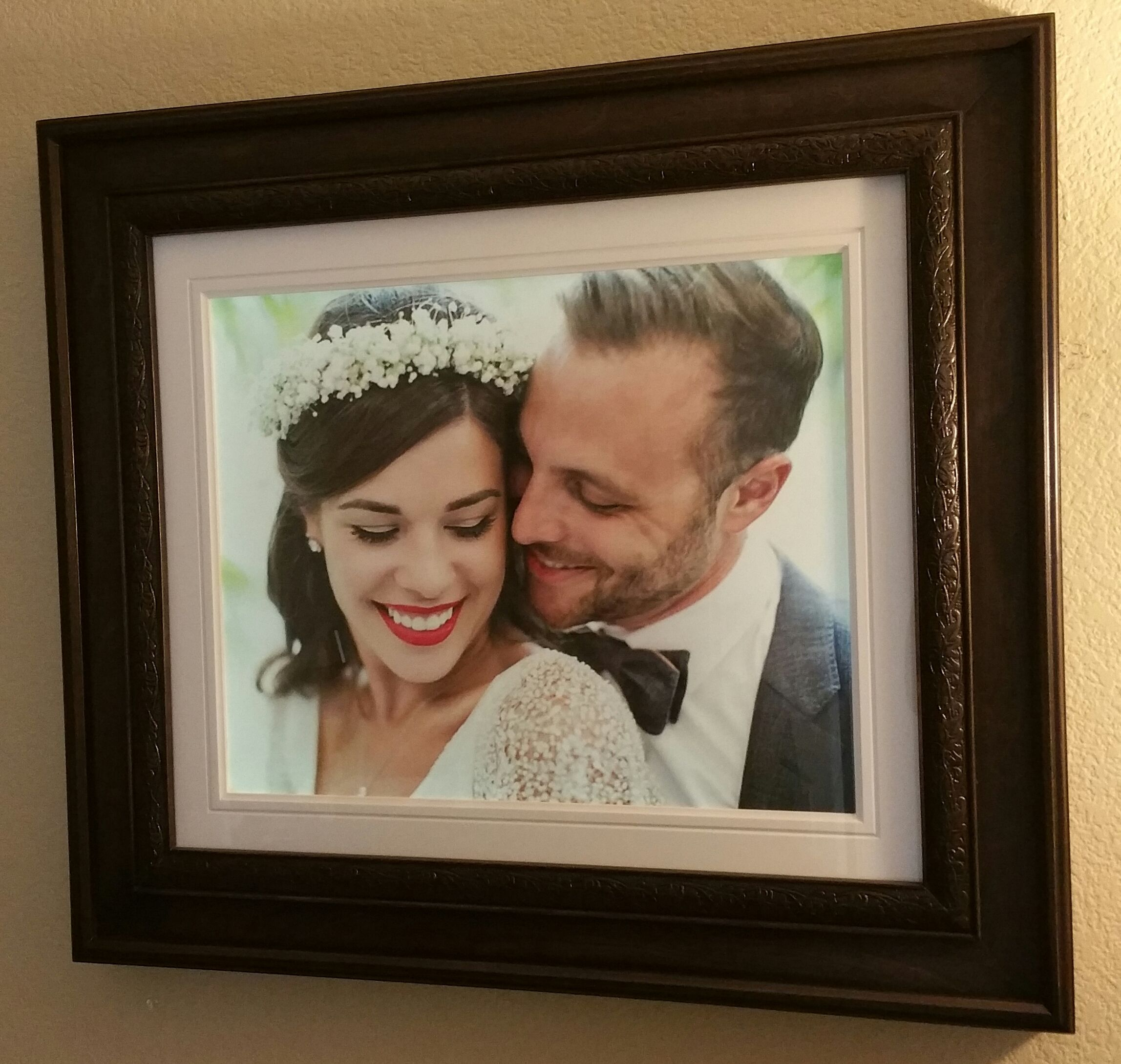 Hand Made 16x20 Backlit Picture Frame by Lighted Images | CustomMade.com