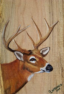 Custom Made Wildlife Rustic Wood Boards Painted To Order
