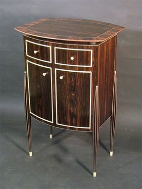 Custom Made Ruhlmann Inspired Drinks Cabinet