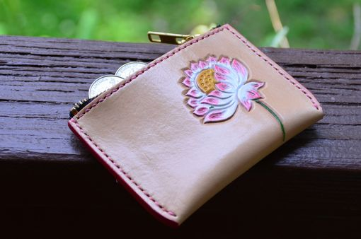 Custom Made Hand Made Lotus Coin Purse  Ask A Question