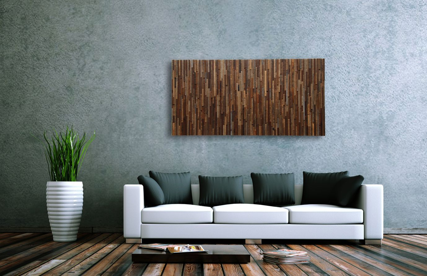 Custom Wood Wall Decor : Custom reclaimed wood wall art by carpentercraig