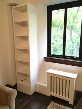 Custom Made Radiator Cover & Bookshelf