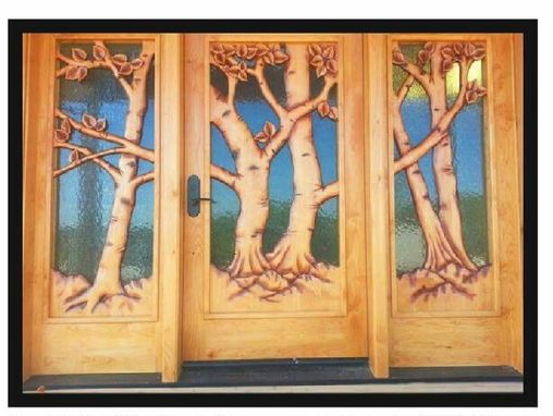 Custom Made Hand Carved Doors And More!