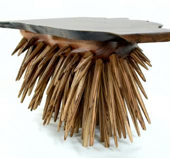 Custom Made 'Porcupine' Table
