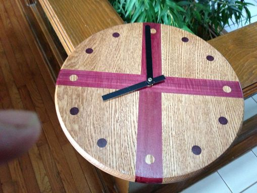 Custom Made Laminated Wall Clock