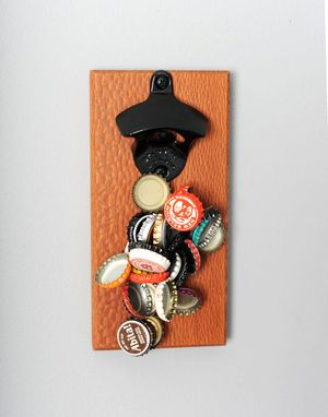 Custom Made Leopardwood Magnetic Bottle Opener