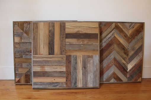 Custom Made Reclaimed Wood Pub And Kitchen End Table