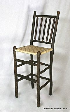 Custom Made Hickory Barstool Seating