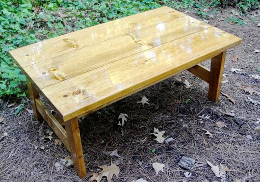 Custom Made Coffee Or End Tables Knotty Pine Gt Style In Multiple Widths And Depths