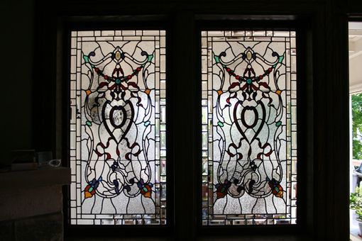 Custom Made Stained Glass Windows - Residential