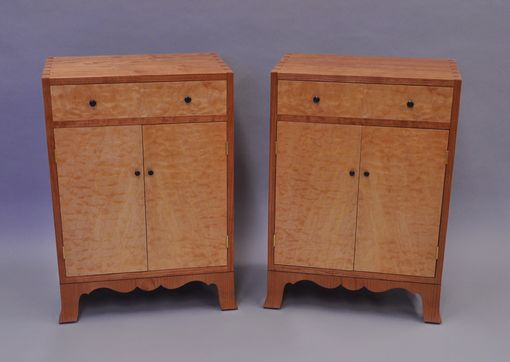 Custom Made Bedside Cabinets