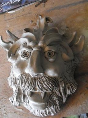 Custom Made Gothic Sculpted Mask  Beings