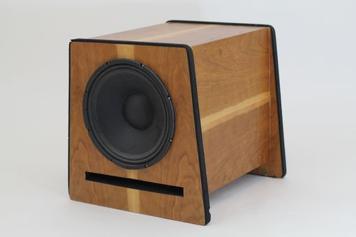 Custom Made Cherry Speakers