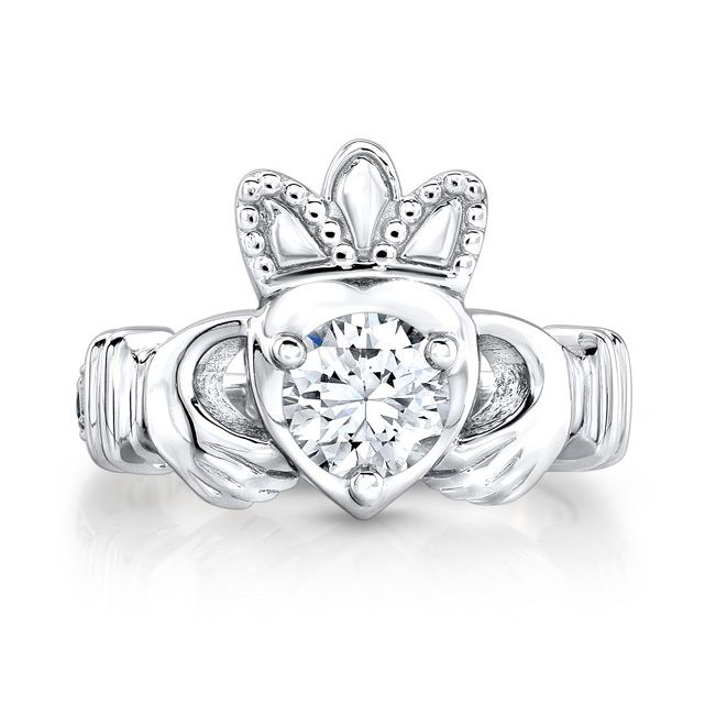 Claddagh Diamond ring forecast dress for everyday in 2019