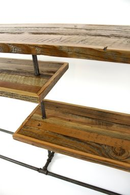 Custom Made 'Galvy' Industrial Console // Reclaimed Wood Sideboard