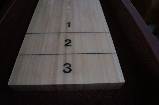 Custom Made L Monico Limited Edition Shuffleboard Table