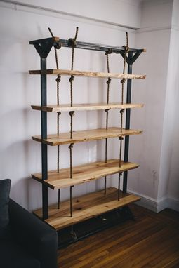 Custom Made Custom Hanging Shelf