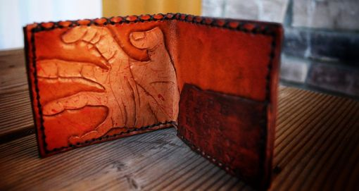 Custom Made Zombie Hand Wallet