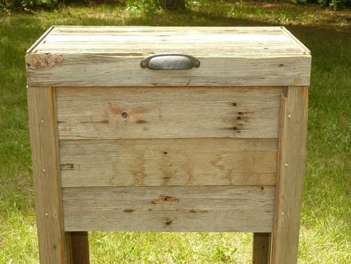 Custom Made Country Deck Cooler - Barn Wood
