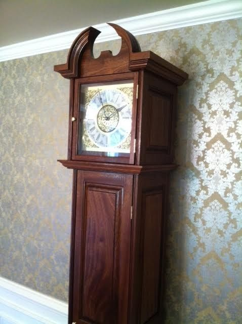 Buy A Hand Crafted Grandfather Clock W Gun Safe Made To