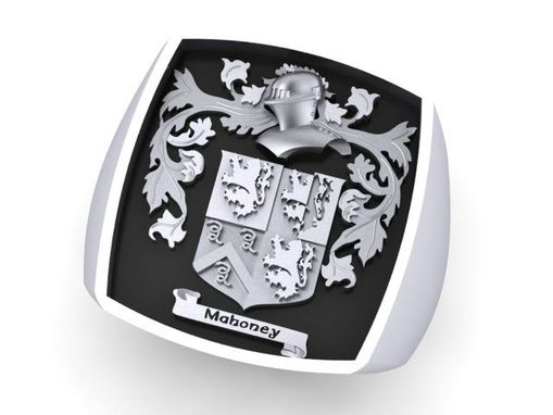 Custom Made Family Crest Ring