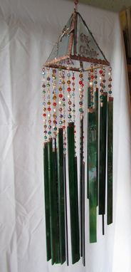 Custom Made Sunchimes In Stained Glass