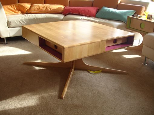 "Custom Made ""Metropole"" 4 Drawer Coffee Table"