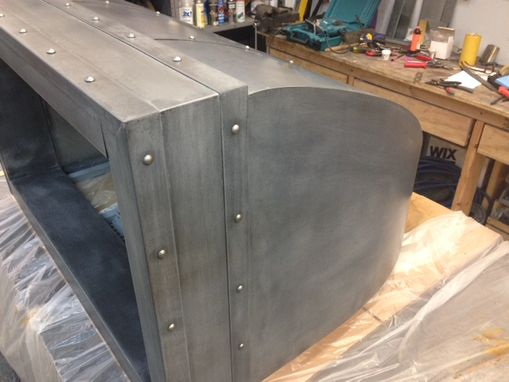 Custom Made Zinc Range Hood Style 3