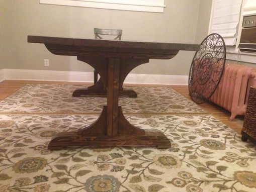 Custom Made Farmhouse Trestle Table