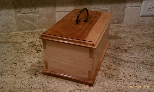 Custom Made Lap Cornered Keepsake Box