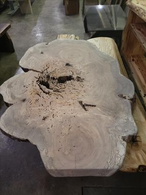Custom Made Spalted Maple Round 5'X6' Amazing One Of A Kind Table Top Coffee Table Top