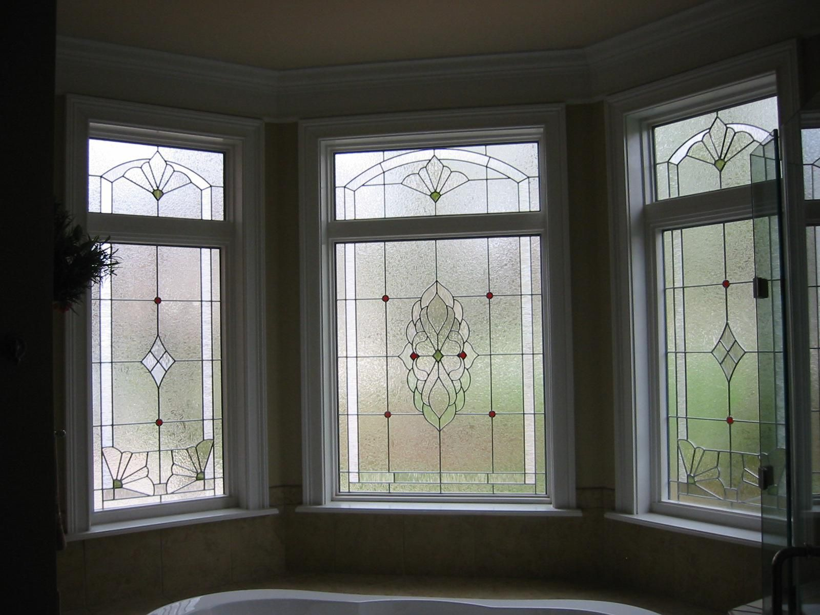 Handmade custom stained glass window by the looking glass for Custom design windows