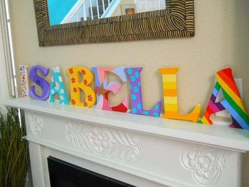 Custom Made Painted Letters