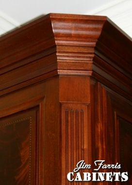 Custom Made Mahogany Entertainment Furniture