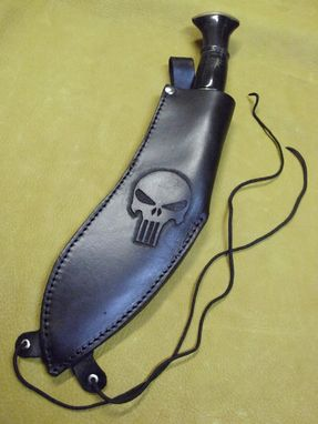 Custom Made Hand Tooled Knife Sheath