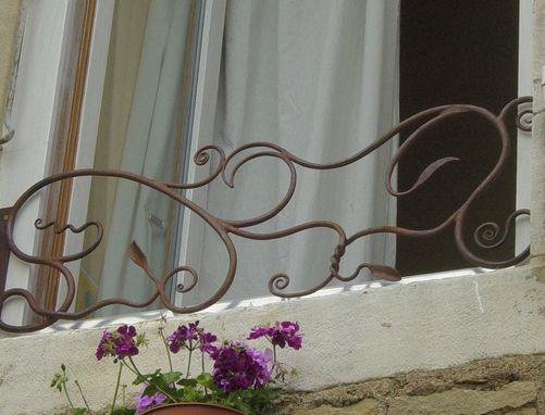 Custom Made Window Railings