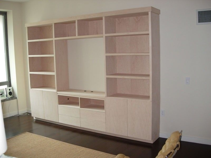 Custom Made Wall Unit by Ezequiel Rotstain Design