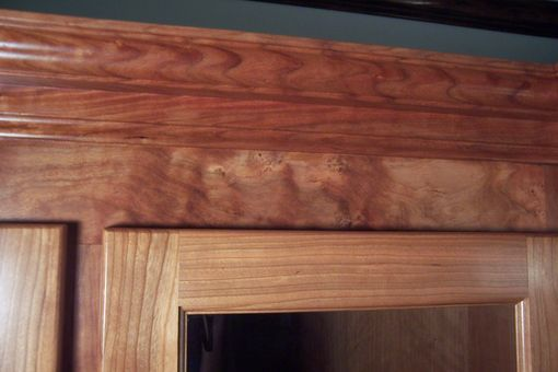 Custom Made Custom Cherry 9 Gun Rustic Gun Cabinet